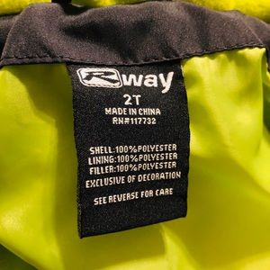 rway Jackets & Coats - R WAY 2T Snowsuit New